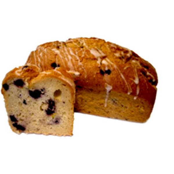 Blueberry Lemon Loaf - Sliced
