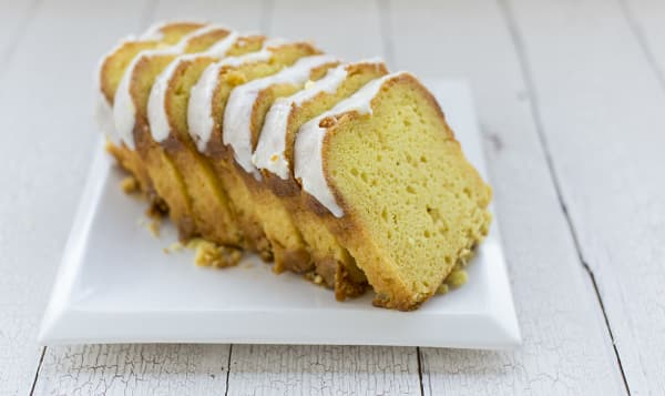 Lemon Loaf - Sliced