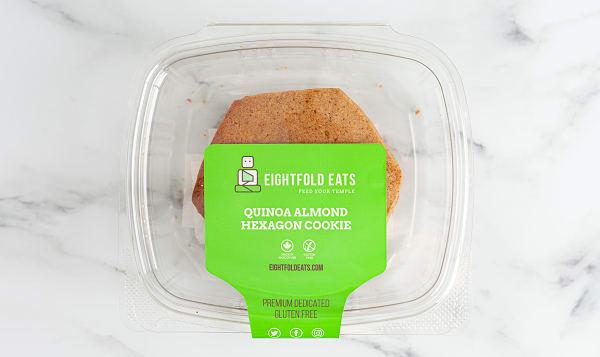 Quinoa Almond Butter Cookie