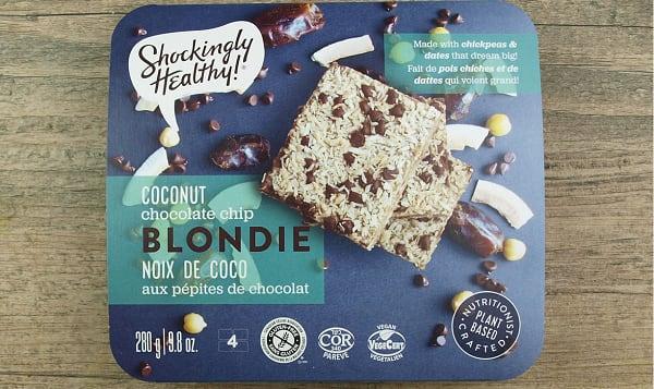 Coconut Chocolate Chip Blondie (Frozen)