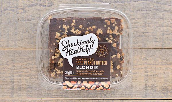 Chocolate Chip Salted Peanut Butter Blondie (Frozen)