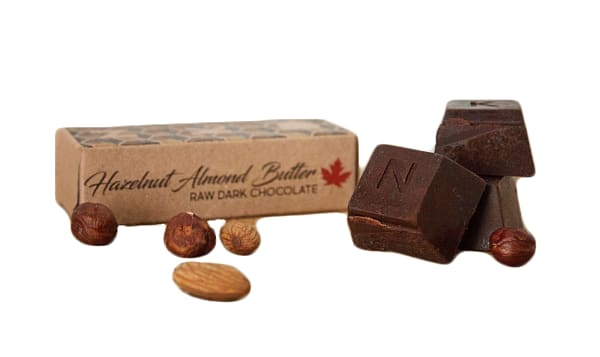 Organic Hazelnut and Almond Raw Cacoa Bar