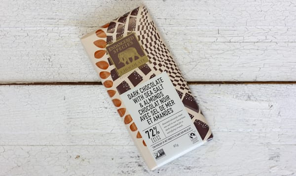 Owl Bar - Almonds, Sea Salt & Dark Chocolate