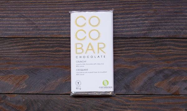 COCONAMA Crunchy Milk Chocolate Bar
