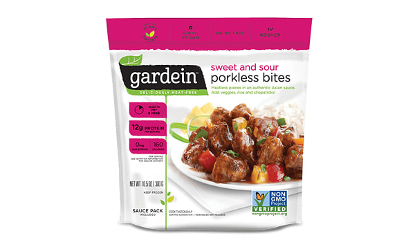 Sweet And Sour Porkless Bites (Frozen)