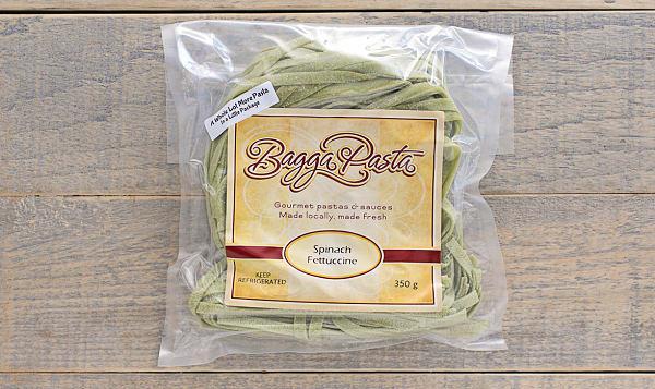 Fresh Spinach Fettuccine