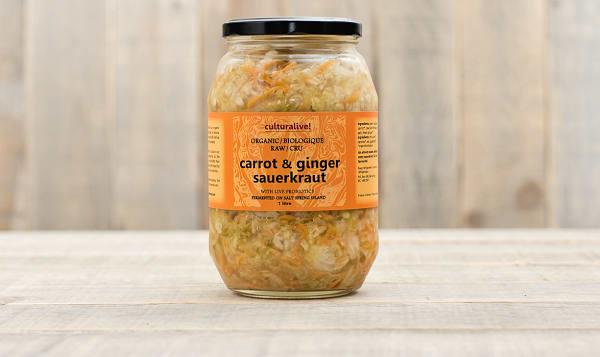 Organic Carrot Ginger & Cabbage