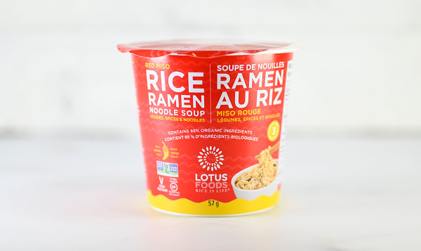 Red Miso Soup Cup
