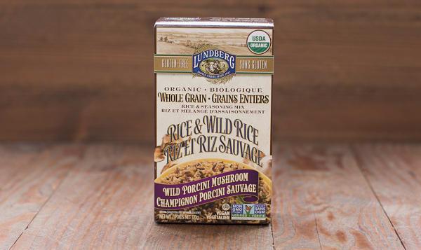 Organic Wild Porcini Mushroom Whole Grain & Wild Rice