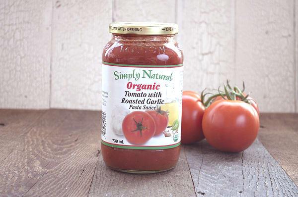 Organic Tomato w/ Roasted Garlic Pasta Sauce