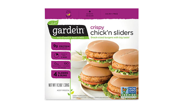 Crispy Chick'n Sliders (Frozen)