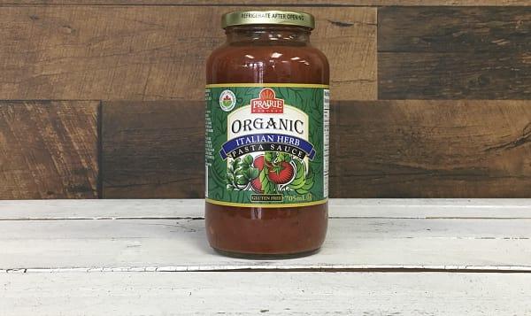 Organic Tomato Herb Pasta Sauce
