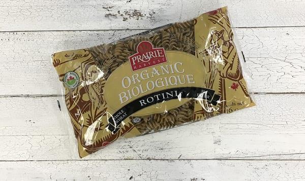 Organic Whole Wheat Rotini Pasta