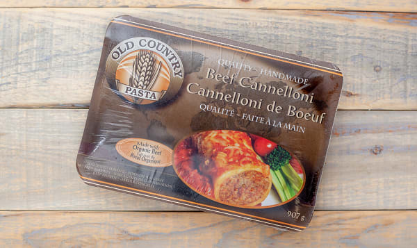 Beef Cannelloni (made with Certified Organic Beef) (Frozen)