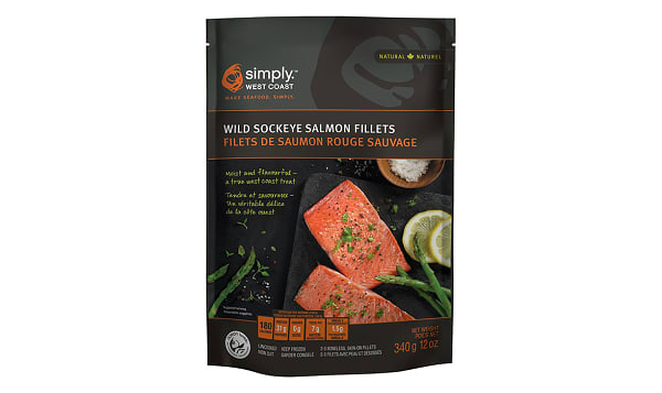 Sockeye Salmon Portions (Frozen)