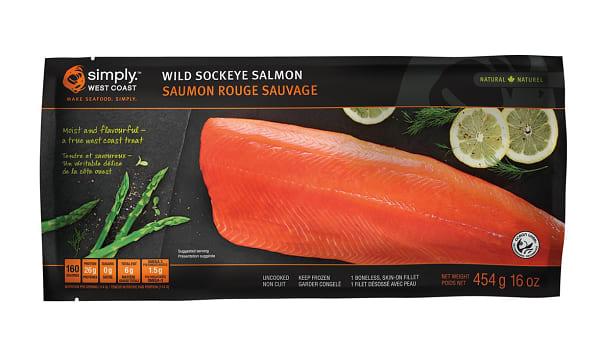 Sockeye Salmon Fillet (Frozen)