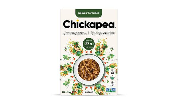Organic Chickpea & Lentil Spirals