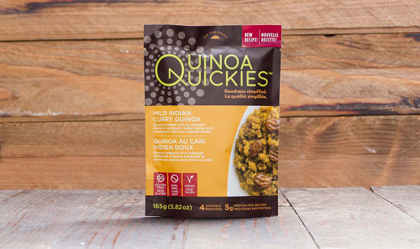 Quinoa Quickies - Mild Indian Curry (100% Canadian Quinoa)