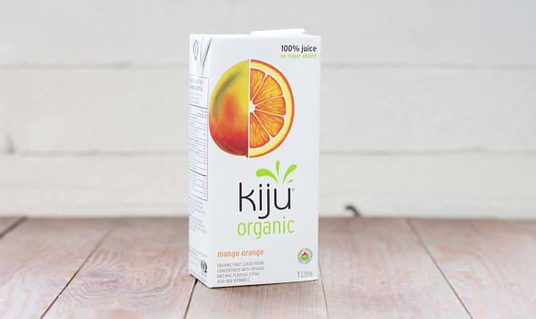 Organic Mango Orange Juice