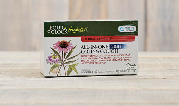 All-In-One Cold & Cough Herbal Tea - Night
