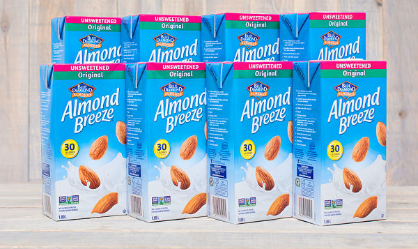 Almond Breeze - Unsweetened - CASE