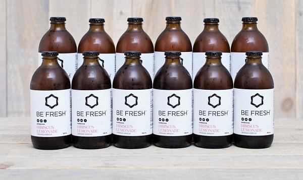 Organic Kombucha, Hibiscus Lemonade - CASE