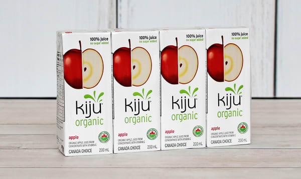 Organic Apple Juice Boxes