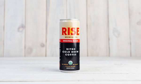 Organic Nitro Cold Brew Coffee - Black