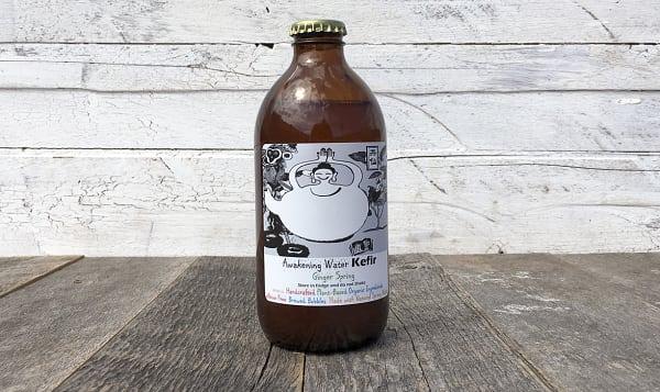 Ginger Water Kefir