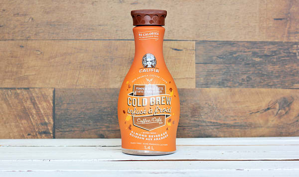 Pumpkin Spice Latte Cold Brew with Almond Milk