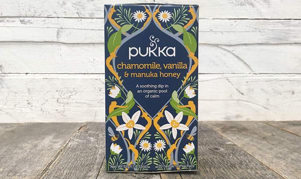 Organic Pukka Tea Chamomile, Vanilla, & Manuka Honey