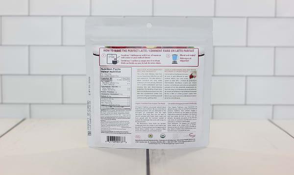 Organic Beet Latte with Probiotics