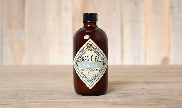Organic Ginger Ale Soda Syrup