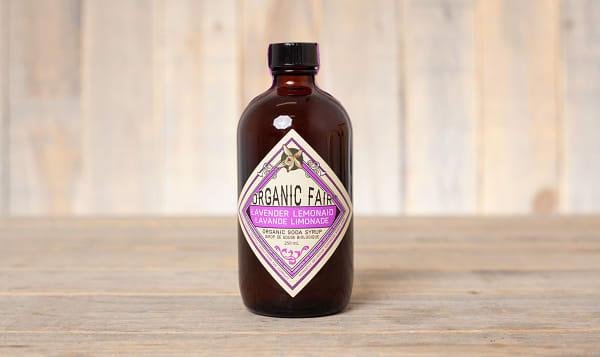 Organic Lavender Lemon Soda Syrup