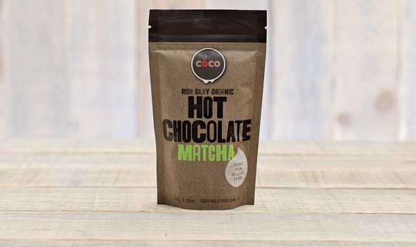 Organic Matcha Hot Chocolate