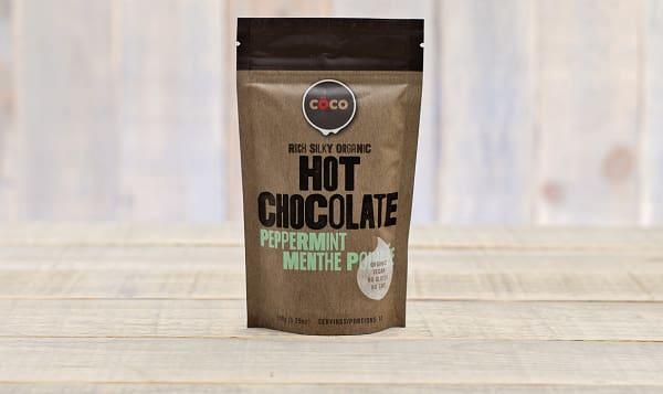 Organic Peppermint Hot Chocolate
