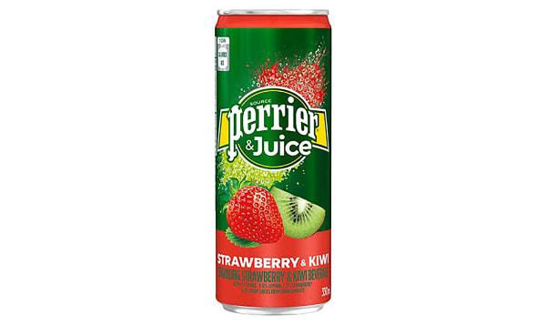 Strawberry & Kiwi Sparkling Juice