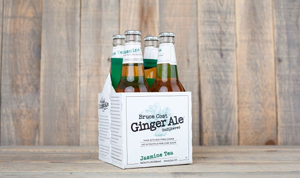 Unfiltered Jasmine Tea Ginger Ale