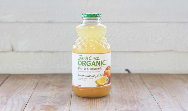 Organic Peach Lemonade