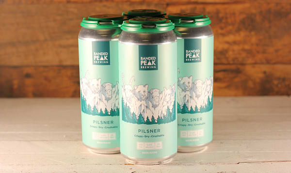 Banded Peak Brewing - Mt. Crushmore Pilsner