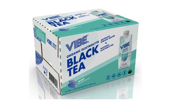 Organic Black Tea - Mint