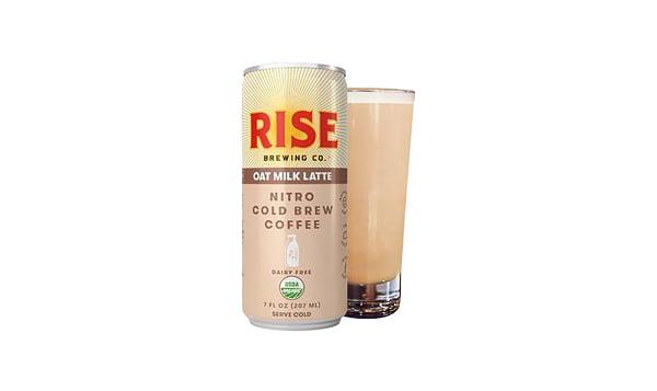 Organic Nitro Cold Brew Coffee - Oat Milk Latte