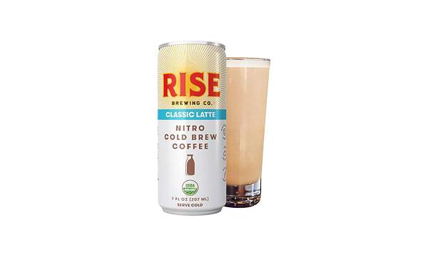 Organic Nitro Cold Brew Coffee - Classic Latte