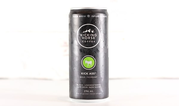 Organic Kick Ass Cold Brew Coffee