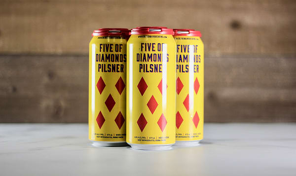 Five of Diamonds Pilsner