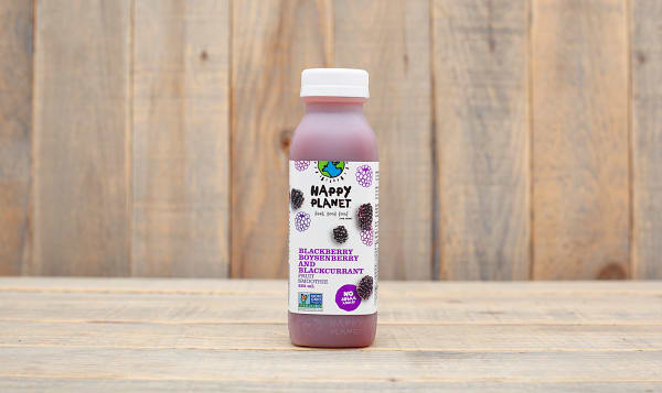 Blackberry, Boysenberry & Blackcurrant Smoothie