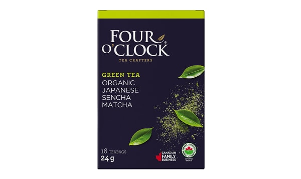 Organic Sencha Matcha Tea Bags