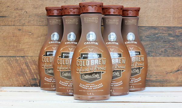 Mocha Cold Brew with Almond Milk - CASE