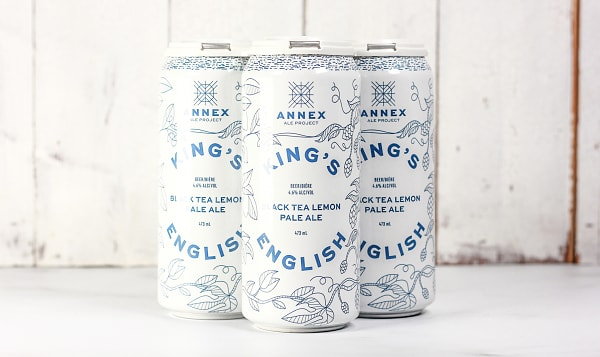 Annex Ale Project - King's English Black Tea Lemon Pale Ale