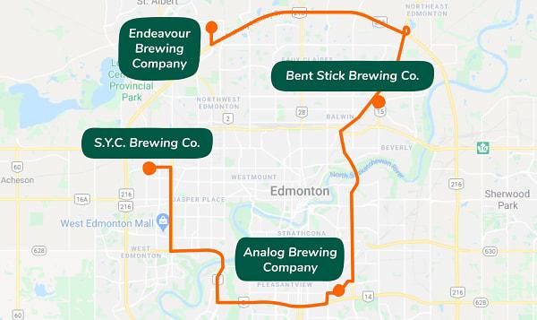 Backyard Brewery Tour - Four Local